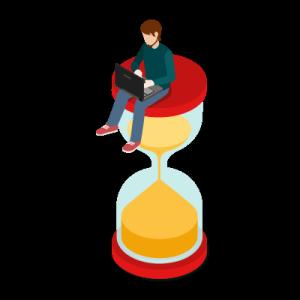Einführung in die Projekt-Arbeit mit Zeitmanagement.